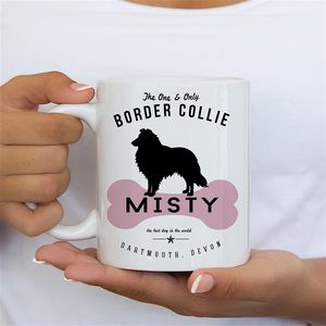 Border Collie Dog Owners Mug And Tableware