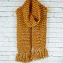 Hand Knitted Alpaca Scarf
