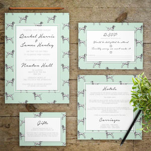 The Bride's Best Friend Wedding Invitations - table decorations