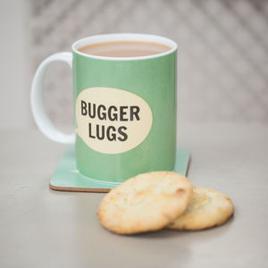 'Bugger Lugs' Bone China Mug