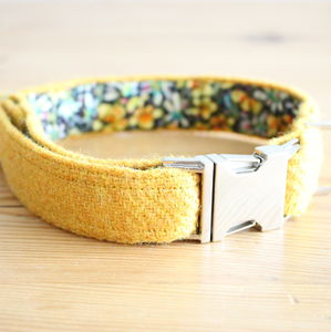 Eilidh Harris Tweed Dog Collar