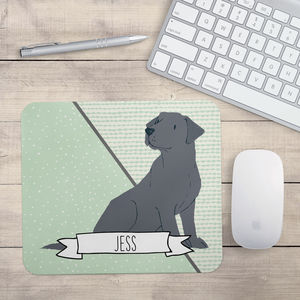 Personalised Labrador Mouse Mat