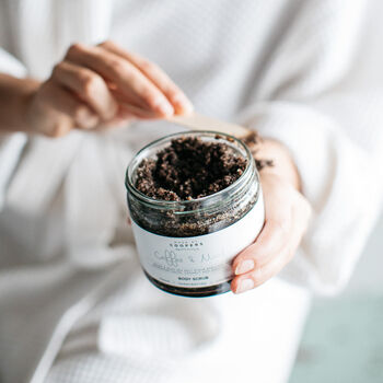 Coffee And Mint Body Scrub