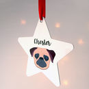 Dog Christmas Decoration Bold