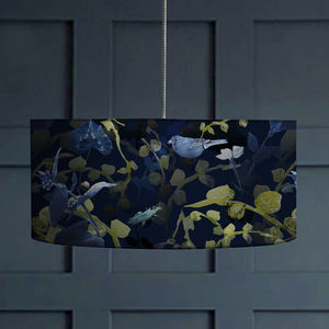 Forest Animals Botanical Lampshade - lamp bases & shades