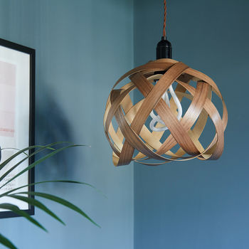 Fastnet Knot Wooden Lampshade