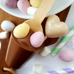 I Heart Easter Boozy Hot Chocolate Spoon Gift