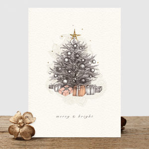 Christmas Tree Card Or Pack - christmas cards