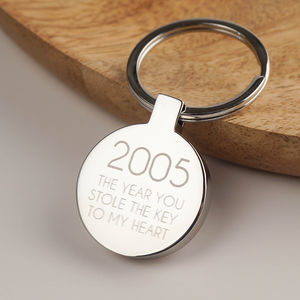 Personalised Love Keyring