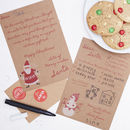 Letter To Santa And Envelope Kit