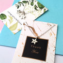 Personalised Initial Star Necklace