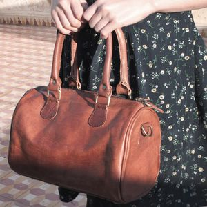 Berlin Leather Handbag - bags & purses
