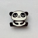 Happy Panda Pin Badge
