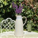 Farmhouse Blue Grey Treacle Glaze Pitcher