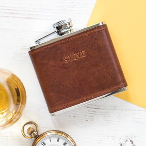 Personalised 4oz Hip Flask