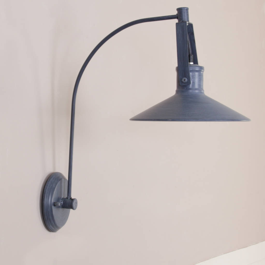 industrial grey metal fisherman s wall lamp by dibor notonthehighstreet.com