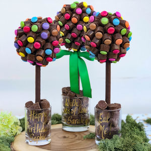 Personalised Rolo And Smarties Tree - sweets
