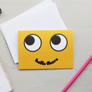Hello There Smiley Face Card