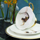 Trapeze Girl Teacup And Saucer