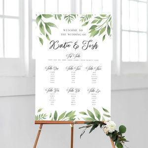 Willow Mounted Table Plan