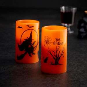 Halloween Battery Candle - party decorations