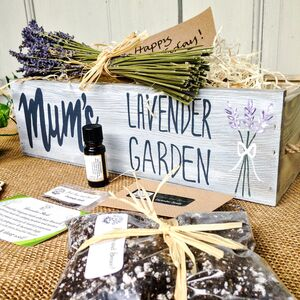 Personalised Grow Your Own Lavender Garden