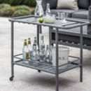 Drinks Trolley In Steel