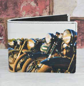 Motorbike Wallet - men's accessories