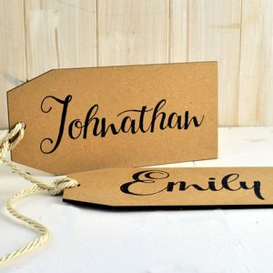 Big Name Tags Personalised