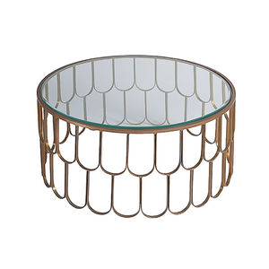 Amelia Brass Coffee Table