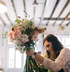 Hand Tied Wild Flower Bouquet Experience For One - centre pieces & flowers