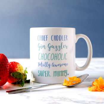 Mum's Favourite Things Personalised Mug