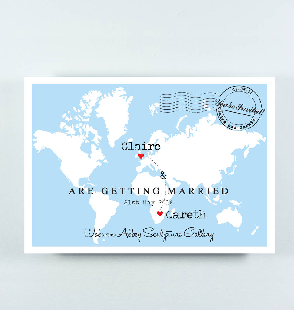 Invitation Map Maker Wedding Tips and Inspiration