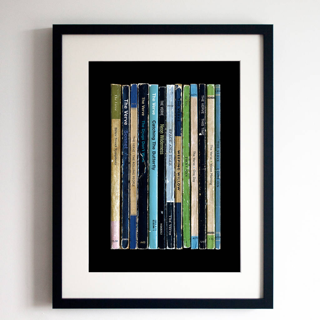 The Verve Urban Hymns Album In Book Form Print By Lime