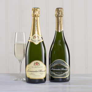 Champagne Lover's Two Bottle Gift