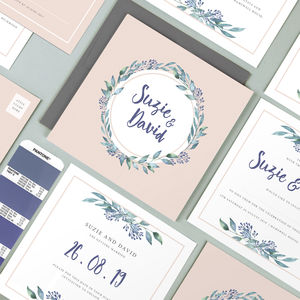 Wedding Stationery The Suzie Collection - what's new