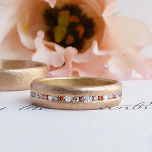 Celeste 18ct Fairtrade Gold Ethical Wedding Ring