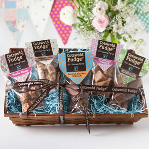 Indulgent Fudge Hamper - chocolates & confectionery