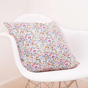 Liberty Print Cushion Betsy - children's room
