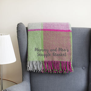 Personalised Mother's Day Blanket - gifts from younger children