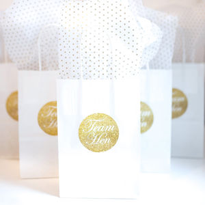 Hen Party Gift Bag | Gold