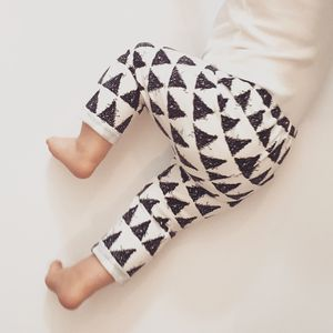 Organic Triangle Monochrome Ankle Grazers - gifts for babies