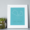 Personalised Favourite Racetrack Moment