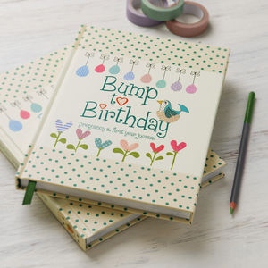 'Bump To Birthday' Journal - notebooks & journals