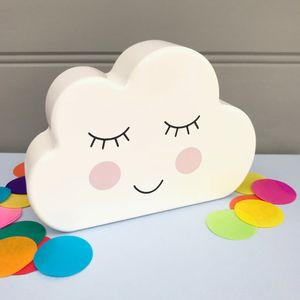 Musical Wooden Cloud Toy