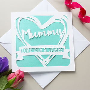 Personalised Mother's Day Card - personalised cards
