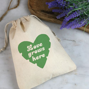 'Love Grows Here' Gift Bag With Seeds For Mum - shop by category