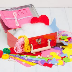 Childrens Starter Sewing Kit - traditional toys & games
