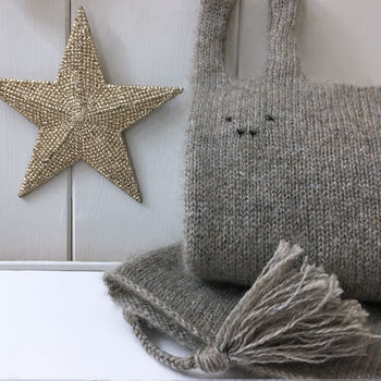 Pure Cashmere Personalised Donkey Comforter