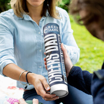 Cheers Dad Craft Beer Canister Gift Idea